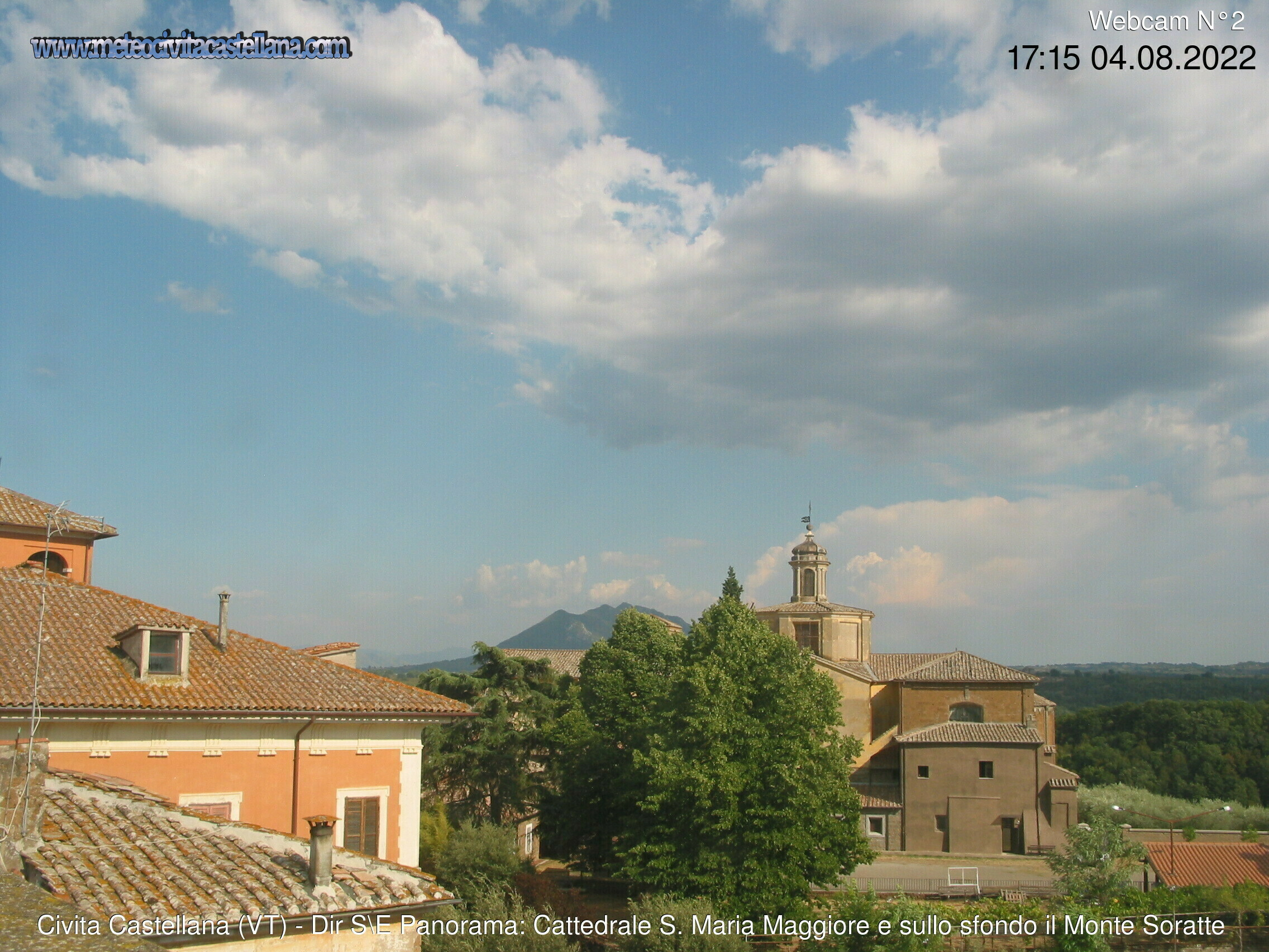 Webcam Civita Castellana - MeteoCivitaCastellana Cam2